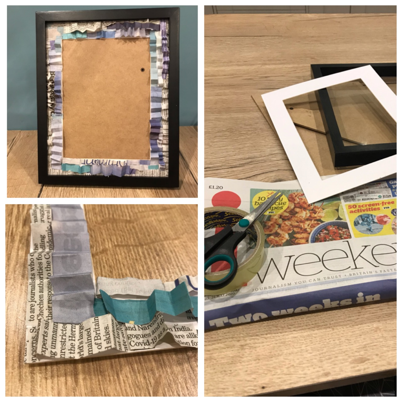Picture frame given a new lease of life